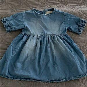 Girls chambray dress